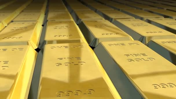 Gold bars texture background