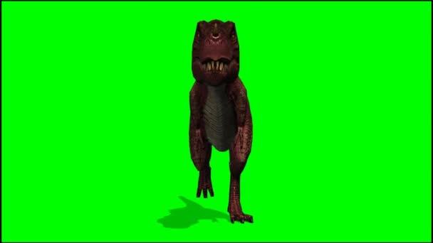 T-Rex Dinosaurier běží