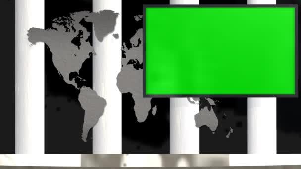 Studio s zelená obrazovka Tv