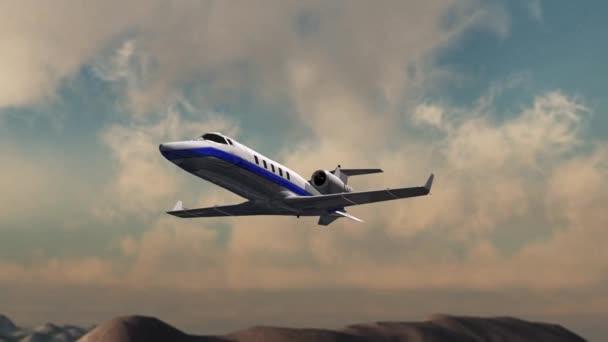 Luxury Corporate Airplane
