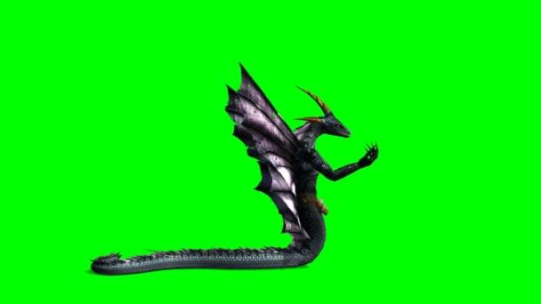 Kígyó támadás-sárkány