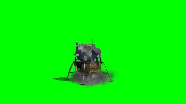 Apollo Lunar lander starts