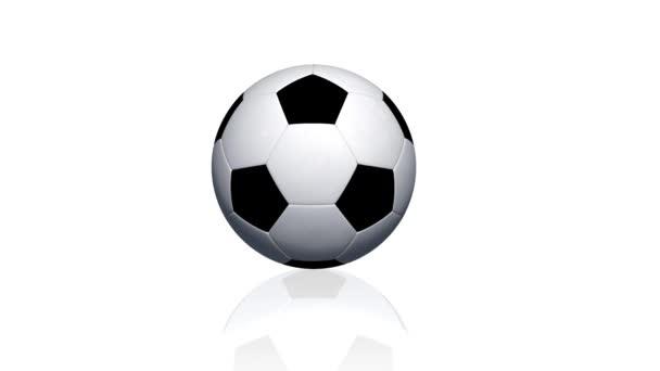 Futball-labda tekercsben