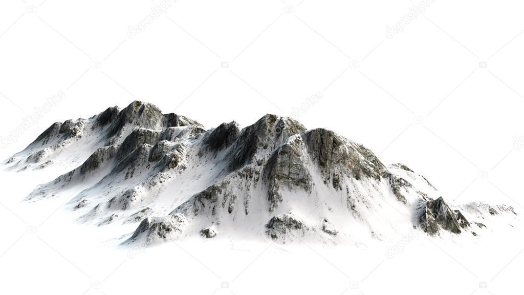 Fondo: montañas blanco | pico de la montaña Nevada — Foto de stock ...