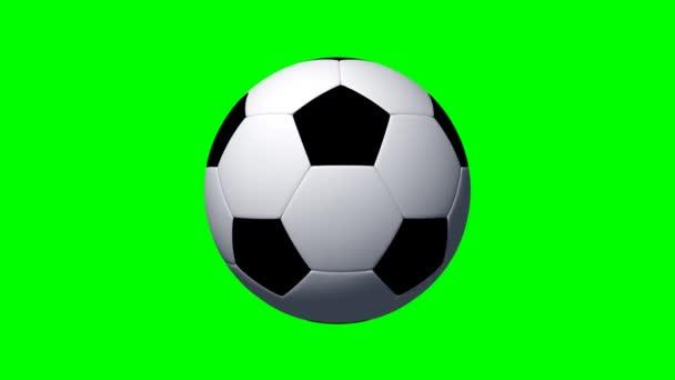 Futball-labda forog
