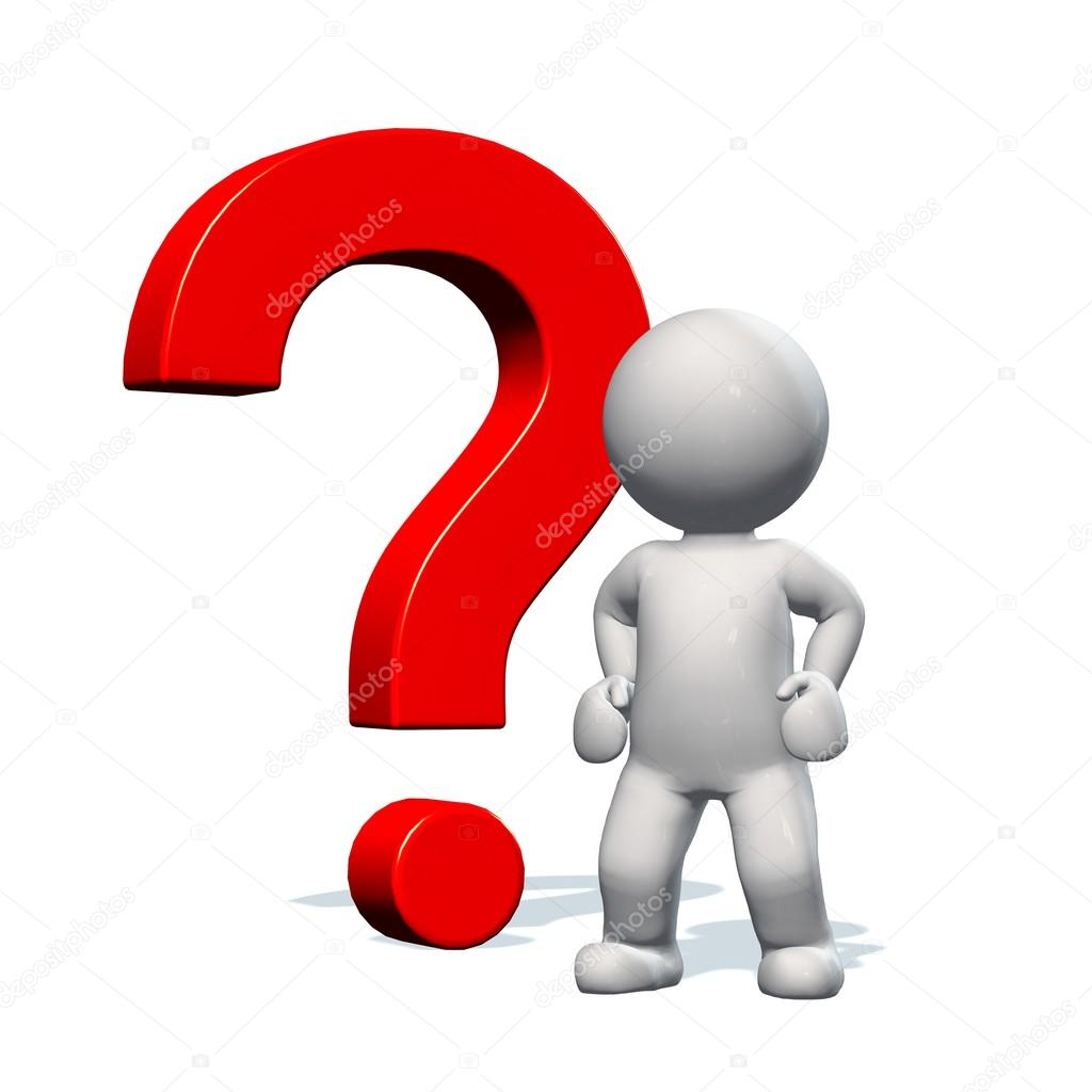 question stock image question mark and 3d person stock photo 3156