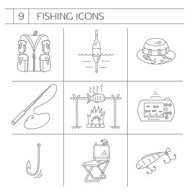 Download Fishing Vest Symbol Free Vector Eps Cdr Ai Svg Vector Illustration Graphic Art