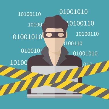 Hacker, Internet Security concept