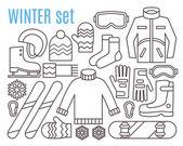 Fotografie Winter-Sportaktivitäten
