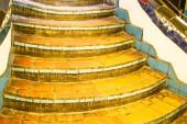 Fényképek A lépcsőház, a Hundertwasser ház, Bécs, Ausztria