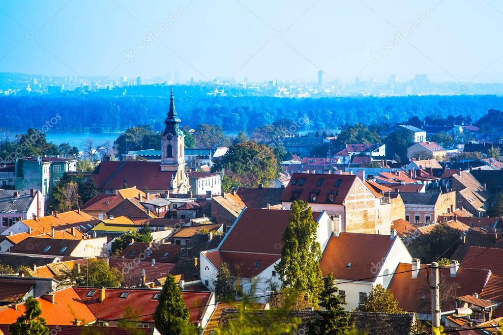panoramic view of Zemun, Belgrade