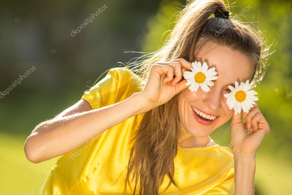 Summer fun woman