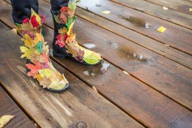 Autumn fashion legs