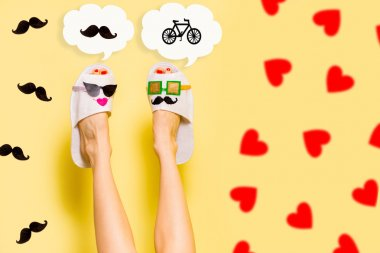 Funny valentines day background