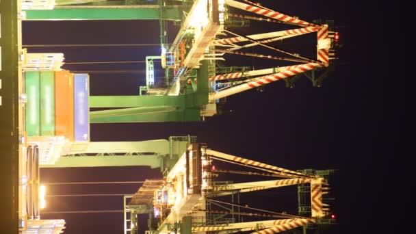 Shipyard Cranes at Port of LA