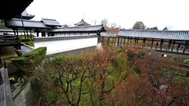 Tradiční japonská zahrada v Toufuku-ji