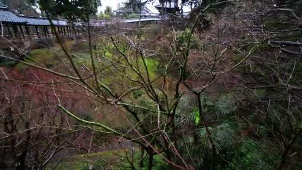 Japonská zahrada  chodby v Toufuku-ji