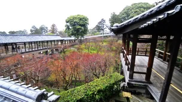 Japonská zahrada v Toufuku-ji v Kjótu