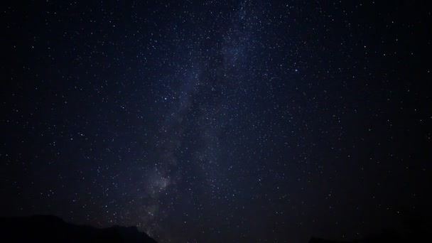 Astrophotography Time Lapse of Milky Way over Mt. Whitney -Tilt Down-