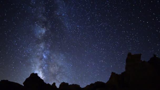 Milky Way Galaxy spanning across Desert