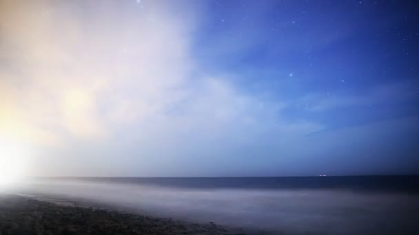 Milky Way rising over Night Seascape