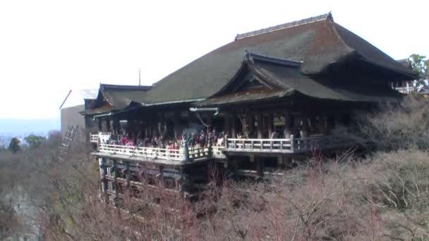 Kiyomizu-dera temple v Kjótu