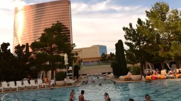 Pool resort v Las Vegas Hotel