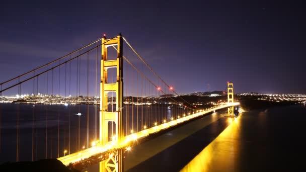 Hvězdy nad mostem Zlatá brána