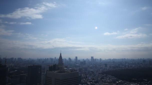 Cloudscape over Tokyo Metropolitan Cityscape
