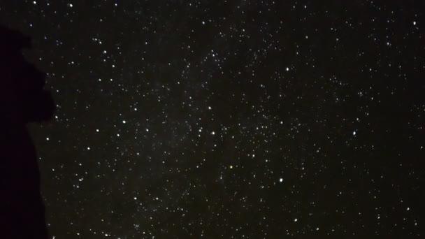 csillagos ég alatt sivatagi táj