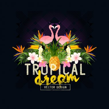 Tropical Summer Vector