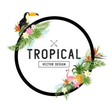 Tropical Border Design