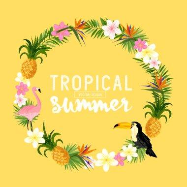 A Tropical Wreath
