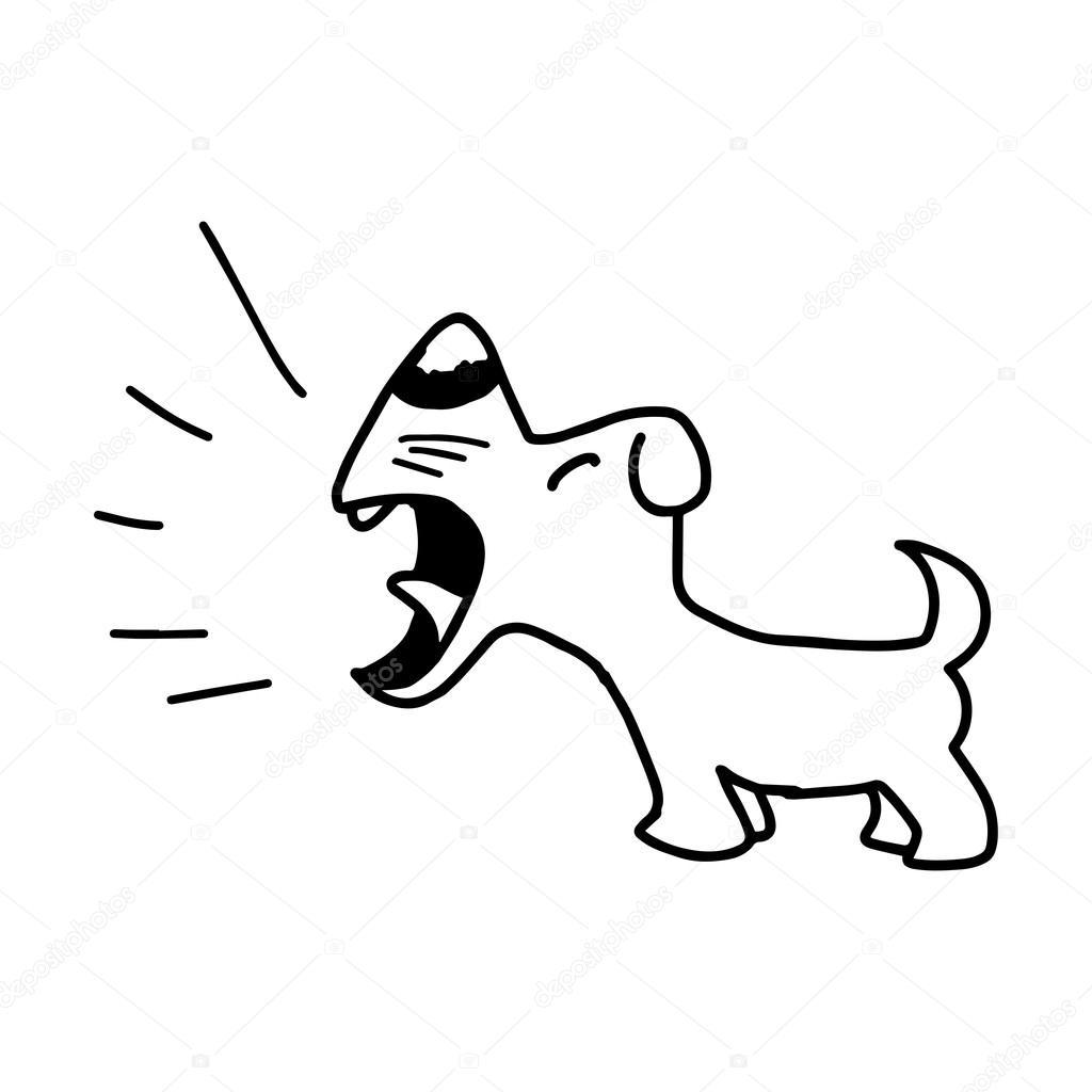 Dog Barking Animation
