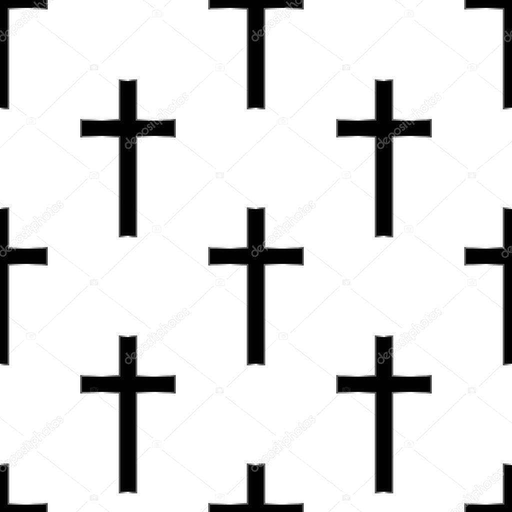 Vector: cruz eps | Cruz religiosa de patrones sin fisuras ...