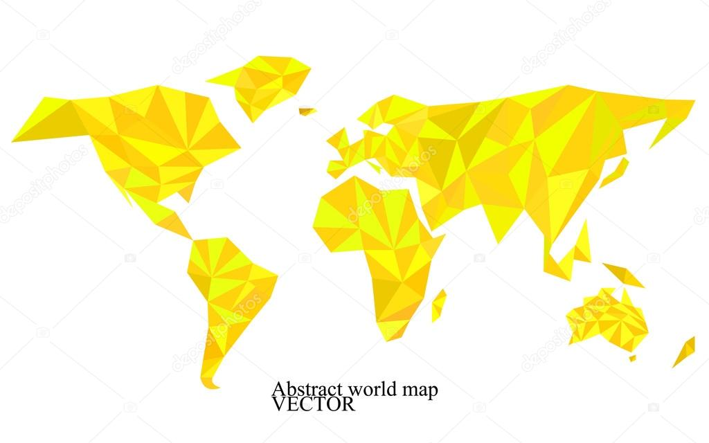 World map background in polygonal style colorful vector world map background in polygonal style colorful vector illustration eps 10 archivo imgenes gumiabroncs Choice Image