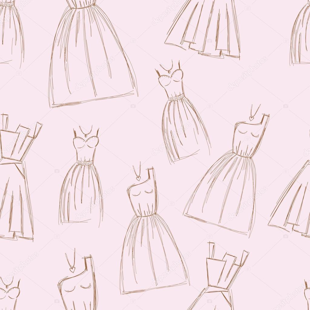 De Bocetos Diseños Diseño A DibujadosVestido Mano Vestidos XwOPuiTZk