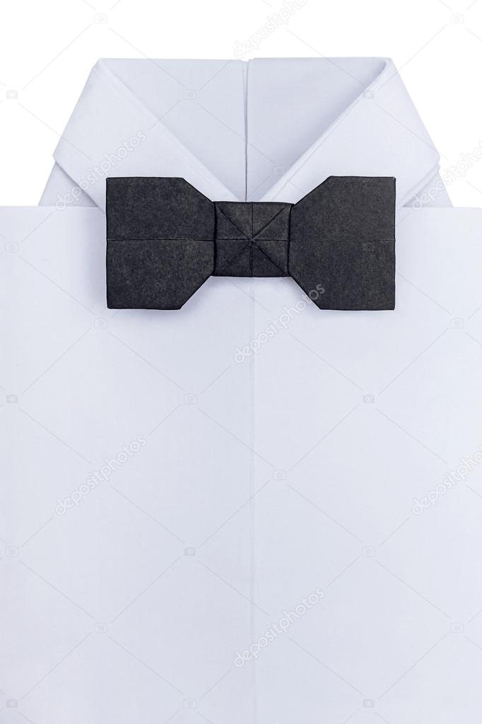 Step by step instructions how to make origami Shirt. — Stock ... | 1023x682