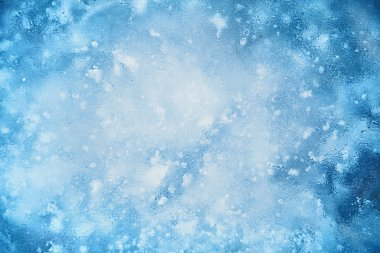 Textured ice blue background