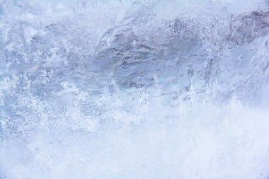 Ice rark blue background