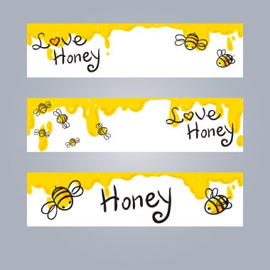honey and Bee illustration