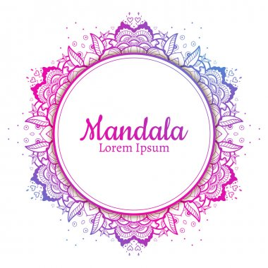 Beautiful Mandala element.
