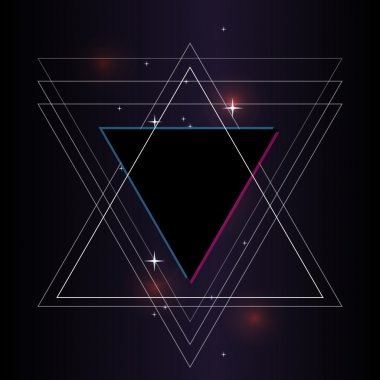 abstract background. Sacred geometry.