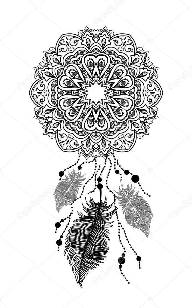 Atrapasue 241 Os Mandala Archivo Im 225 Genes Vectoriales