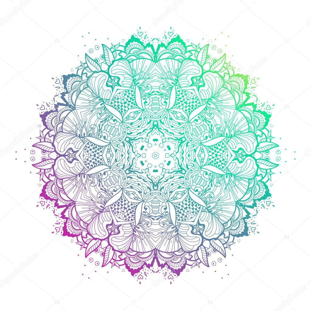Imágenes Hermosas De Mandala Elemento De Mandala Hermoso Vector