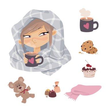 Kid Illness icons