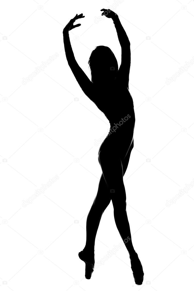 silhouette de danseuse en noir et blanc photographie cheese 78 73707663. Black Bedroom Furniture Sets. Home Design Ideas