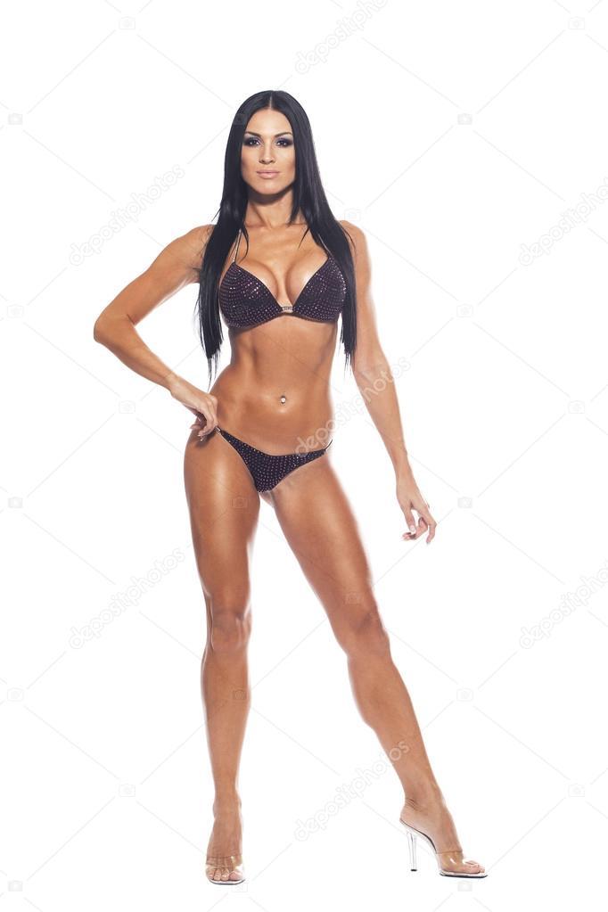 Красивая сексуальная тело девушек