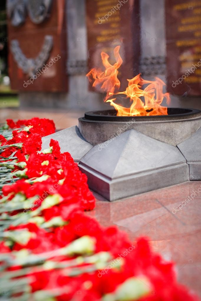 Eternal Flame - symbol of victory in World War II