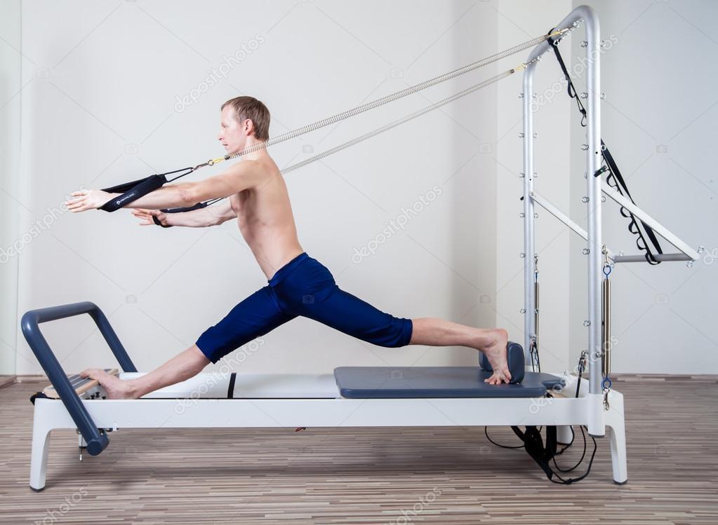 Resultado de imagem para homem pilates
